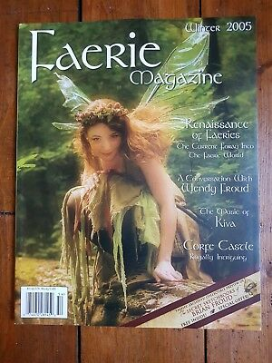 Faerie Magazine Winter 2005 Wendy Froud J Corsentino Fantasy Fairy Art New