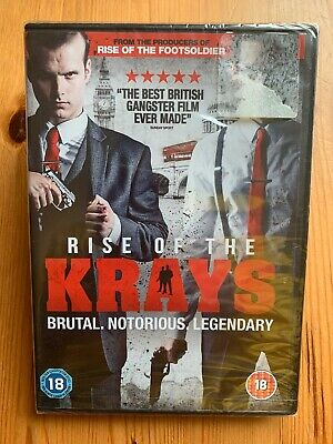 Rise of the Krays - Dvd (2015) Simon Cotton - Kevin Leslie - NEW / SEALED