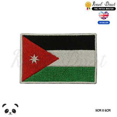 KENYA National Flag Embroidered Patch Iron on Sew On Badge For Clothes etc