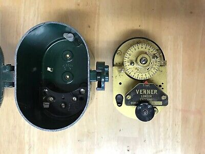 Rare Vintage Venner Time Switch London Industrial Clock Switch Power Timer