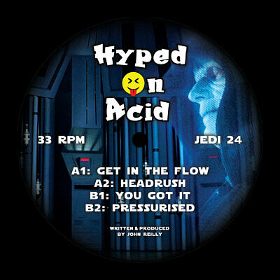 "Hyped On Acid - Get In The Flow // Vinyl 12"" limited edition"