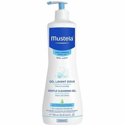 Mustela Gentle Cleansing Gel for Normal Skin 750ml