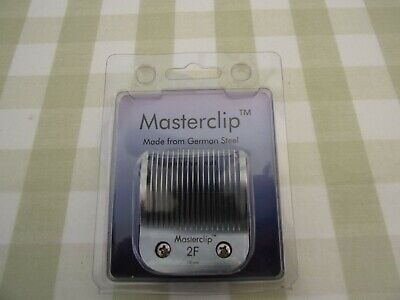 Dog Clipper Blades 2F Masterclip German Steel Fit Oster & Andis