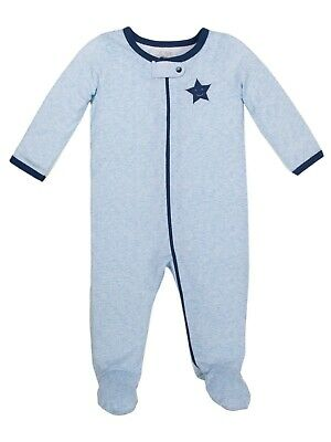 7985bb539 3 LITTLE STAR Organic Sleep N Plays Long Sleeve infant outfits suits ...