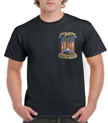 9b5d105b1 Honor Our Heroes Remember Their Sacrifice Unisex American Patriotic Army T- Shirt