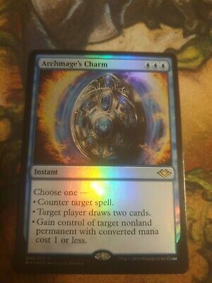 Magic the Gathering MTG Modern Horizons Archmage/'s Charm 040//254