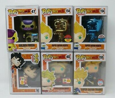 FUNKO POP DRAGON BALL Z  Lot -  Toy Tokyo, NYCC, & SDCC Shared Exclusives