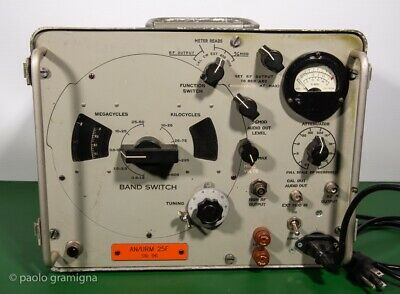 AN/URM-25F Signal Generator 10Khz-50Mhz reconditioned and well working workhorse