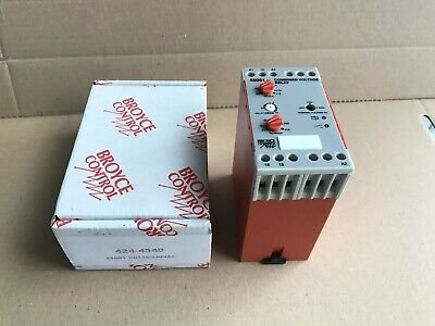 Broyce Control Combined Voltage 1phase Monitoring Relay 230v/115v/24vac