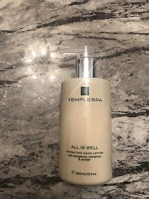 TEMPLE SPA  ALL IS WELL HAND LOTION, 300ml