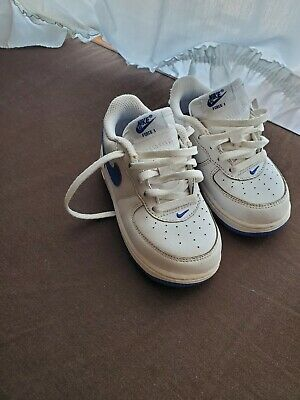 0e825b85ce INFANT BOYS SHOES Nike Air Force 1 314194-117 toddler size 8 C white ...