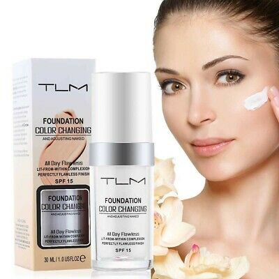 Genuine TLM Magic Flawless Color Changing Foundation 30ml All Day Flawless Finis