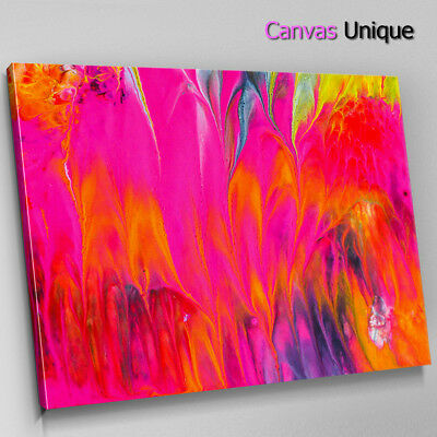 AB1476 Colourful Cool Funky Modern Abstract Framed Wall Art Large Picture Prints