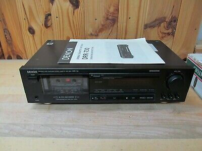 Denon DRR-730 Cassette Tape Deck Player