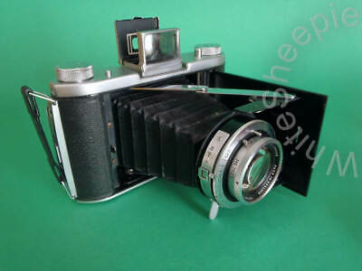 Ensign Selfix 820 120 film camera with a Ross London 105mm XPRES f3.8 lens