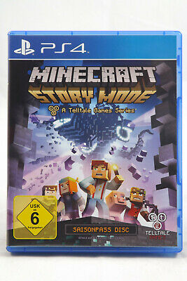 Minecraft Story Mode (Sony PlayStation 4) PS4 Spiel in OVP, SEHR GUT