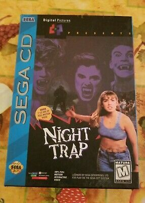NEW / SEALED✨ NIGHT TRAP ✨Sega CD✨ULTRA RARE 2ND PRINT