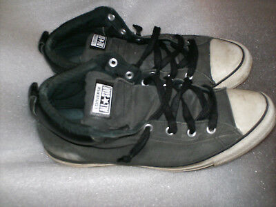 CHUCKS, CONVERSE ALL Star hi, dunkelgrau, Gr. 46,5