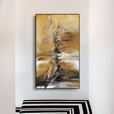 """HH466 Modern Home Decor Abstract art oil painting Hand-painted Unframed 36"""""""