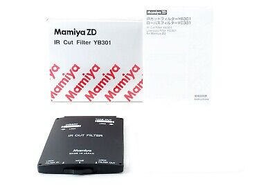 """ Unused in Box "" For Mamiya ZD IR Cut Filter YB301 from Japan Free Shipping #12"