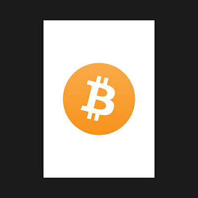 A5 A4 A3 Print Poster Wall Art Decor EOS Crypto Cryptocurrency