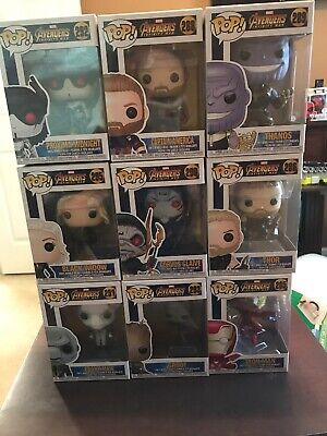 Marvel's Avengers: Infinity War Funko Pop! Lot