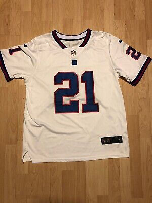 outlet store c06d8 a7ded NFL NEW YORK Giants #21 Landon Collins Away White Nike ...