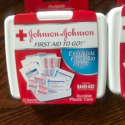 030423ad348b LOT OF 6 NEW & SEALED - JOHNSON JOHNSON Safe Travels First Aid Kit ...