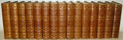 LEATHER Set;Works of CHARLES DICKENS! Limited Edition complete rare library gift