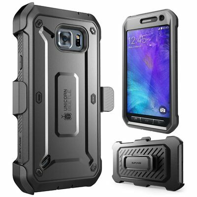 For Samsung Galaxy S6 Active, SUPCASE UB Full-Body Holster Case Cover w/ Screen