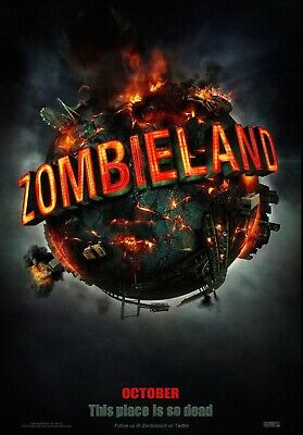 """Zombieland """"Teaser"""" 27x40 DS Movie Poster"""