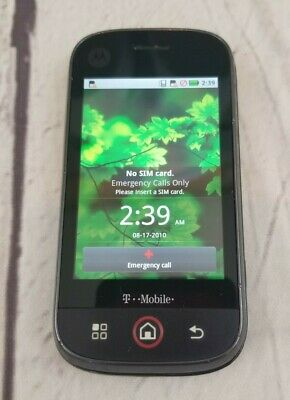 MOTOROLA BLUR - (T-Mobile) No Charger