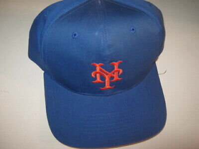 new photos 092b9 222c8 Mlb Baseball Twins Enterprise Issued New York Mets Baseball Hat Cap New