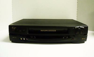 PHILIPS MAGNAVOX VRX262AT01 VCR Plus+ VHS HQ Player Recorder