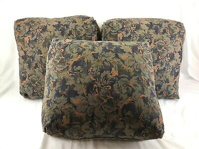 Arts & Crafts Upholstered Settle Pillow Set of 3 (16 x 16)