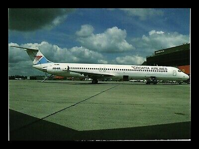 Dr Jim Stamps Us Croatia Airlines Airplane Transportation Continental Postcard