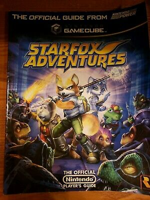 Star Fox Adventures Gamecube Official Players Guide Nintendo Power