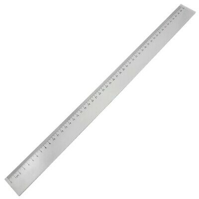 1X(50cm Clear Plastic Measuring Long Straight Centimeter Ruler Y1W2)