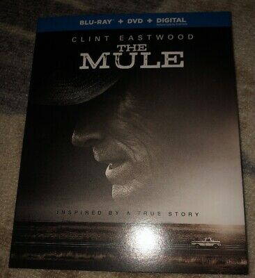 The Mule BD/DVD W/ Slipcover No Digital Free US Shipping