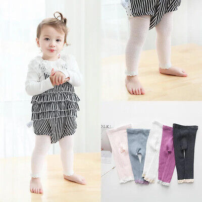 Toddler Infant Kids Baby Girls Cotton Warm Pantyhose Socks Tights Panties Socks