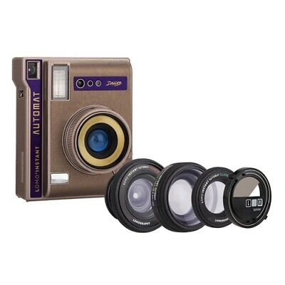 Lomography Instant Automat Camera with 3 Lenses & Splitzer - Dahab Edition (AUST