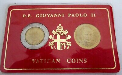 2x Vatican coins sealed in pack