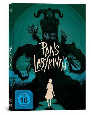 Pans Layrinth  [3-Disc Blu-ray im Limited Mediabook/NEU/OVP] Guillermo del Toro
