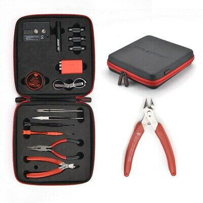 Coil Master DIY Kit DIY Tool Kit Accessories All-in-one Vapee Device Tool Bag dd