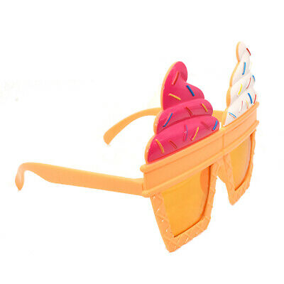 Novelty Ice Cream Designed Sunglasses Modeling Glass Party Costume Photo Props