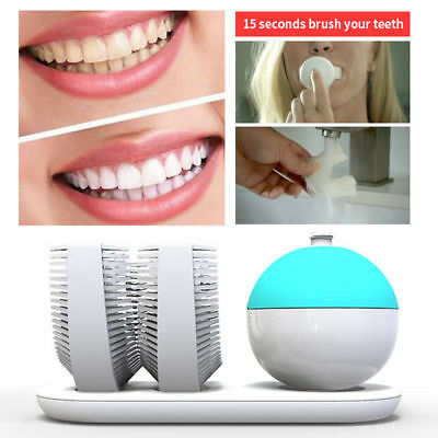 15S Professional - World's First Whitening Automatic Toothbrush w/ Double Head