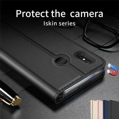 For Xiaomi Redmi Note 7 6 Pro Mi 9 8 Magnetic Wallet PU Leather Flip Case Cover