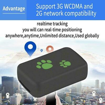 TK203 3G GPS Tracker Dog Cat Pet GPS WCDM Locator 10m Real Time Tracking Device