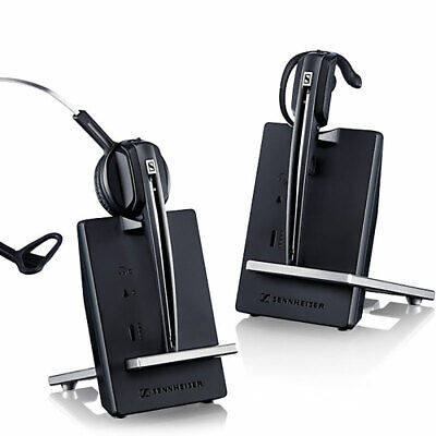 Sennheiser DECT wireless headset and base for soft phone /PC