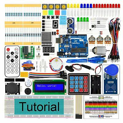 Freenove RFID Starter Kit V2.0 with Uno R3 (Arduino-Compatible), 252 Pages Detai